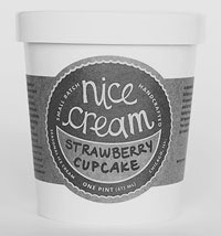 Nice Cream Packaging Design